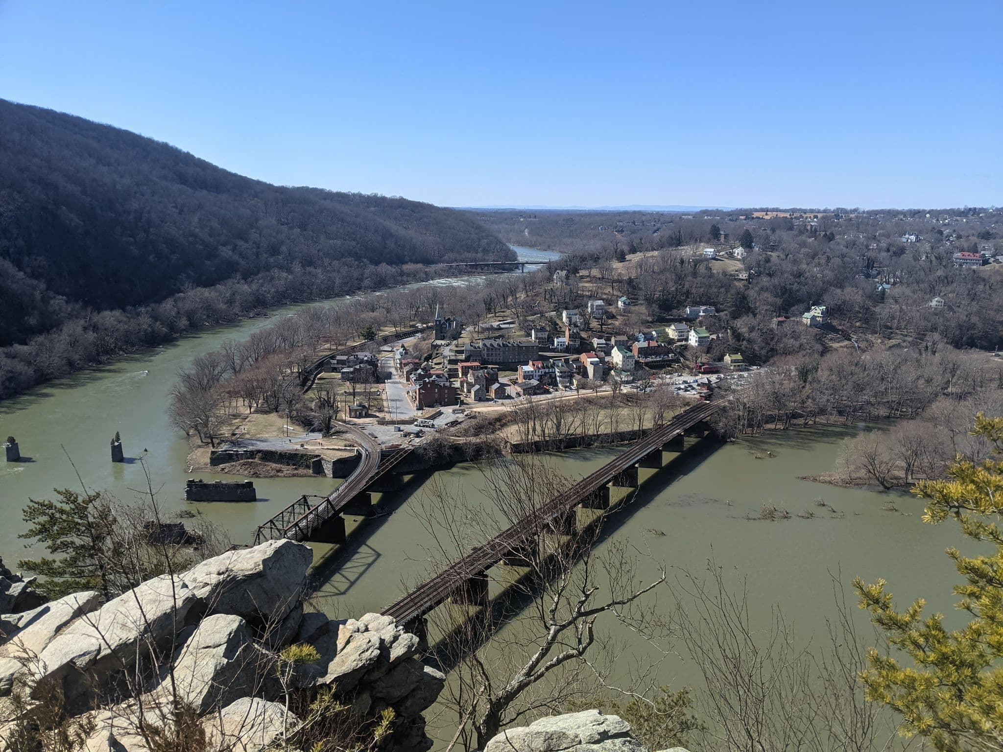 Road Trips From Roanoke - Harper's Ferry and Great Falls, Va - Harpers Ferry
