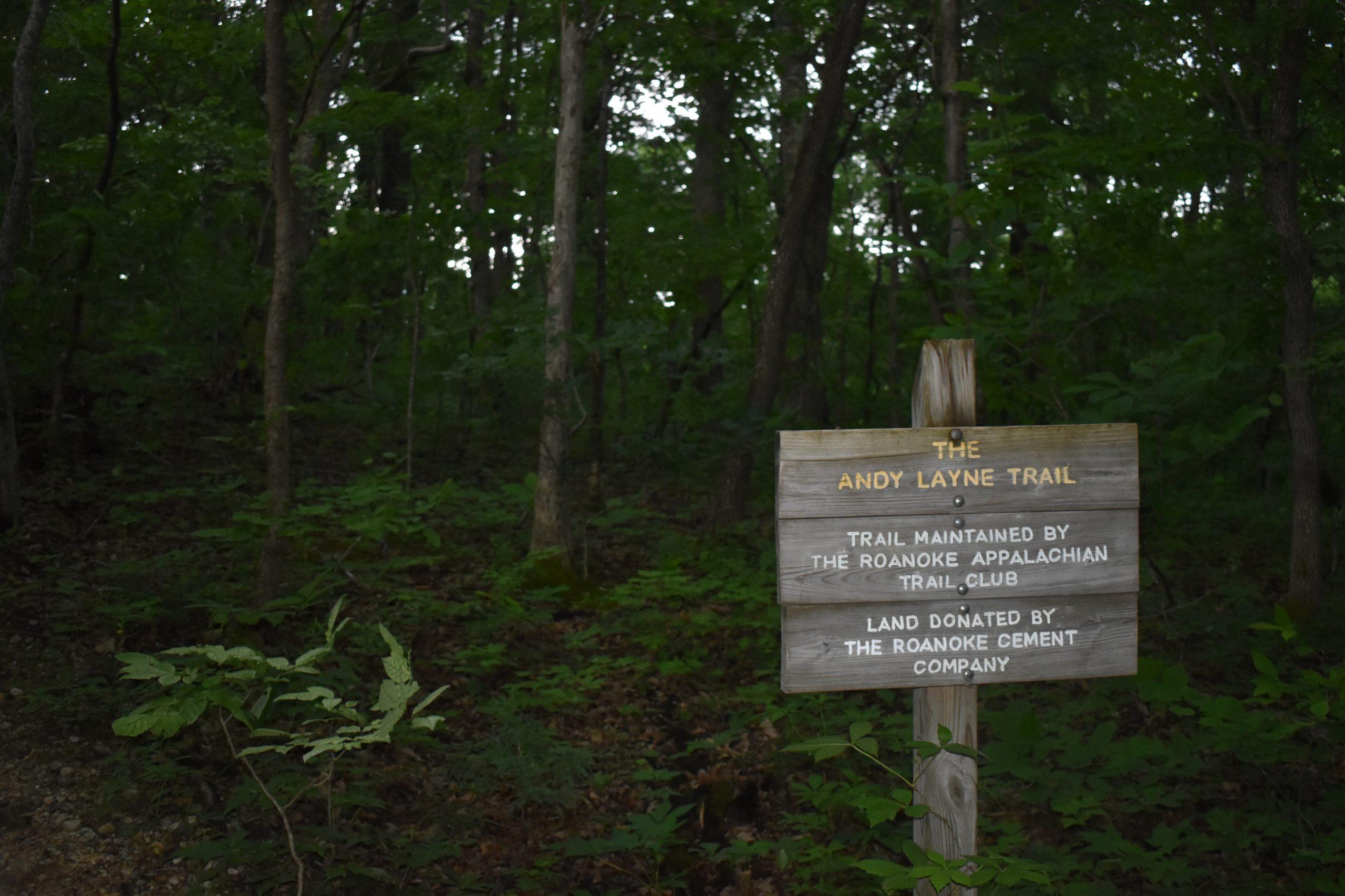 Tinker Cliffs via Andy Layne Trail - Yoanoke