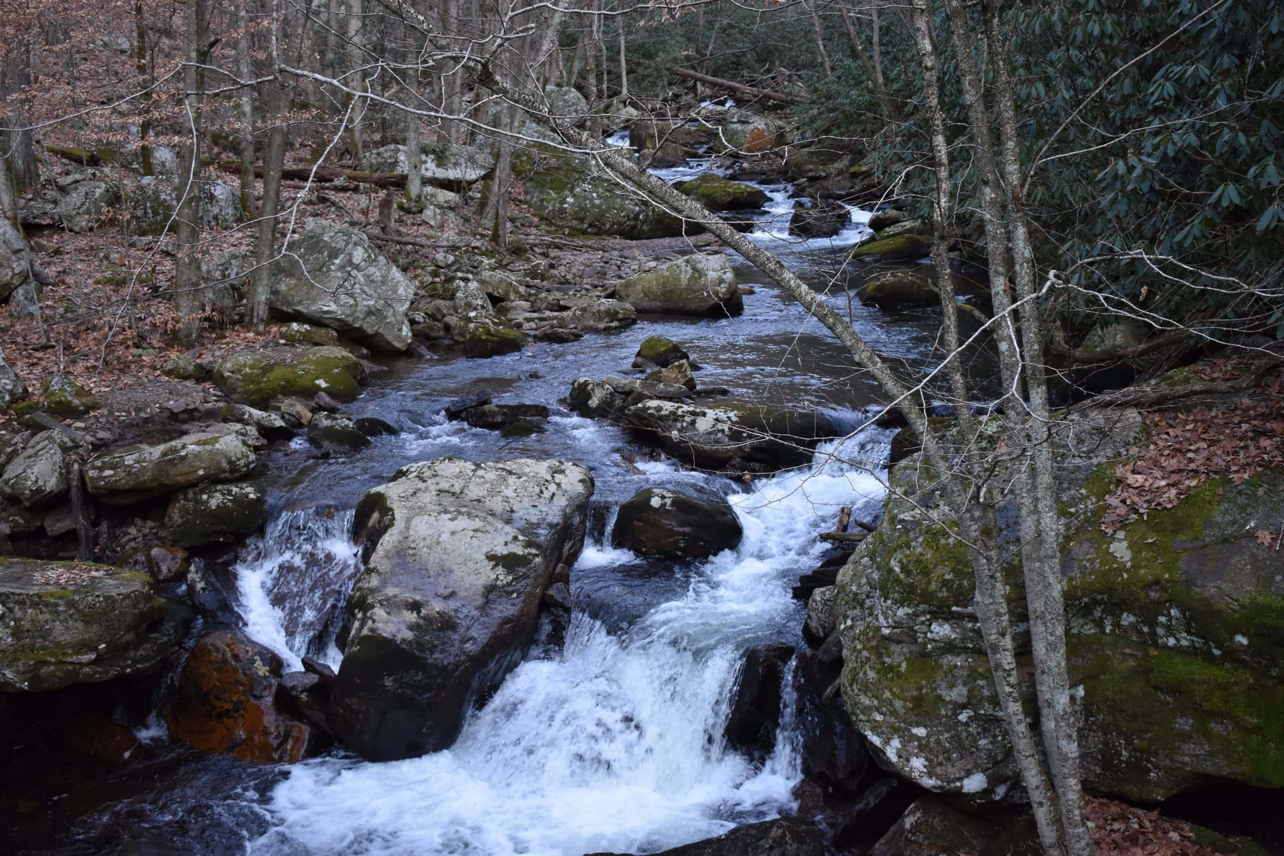 cascades falls trails va - yoanoke - rapid water