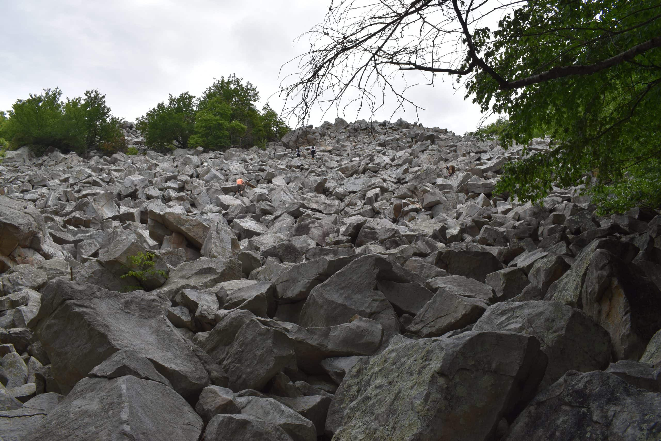 Devils Marbleyard Trail Va - Yoanoke