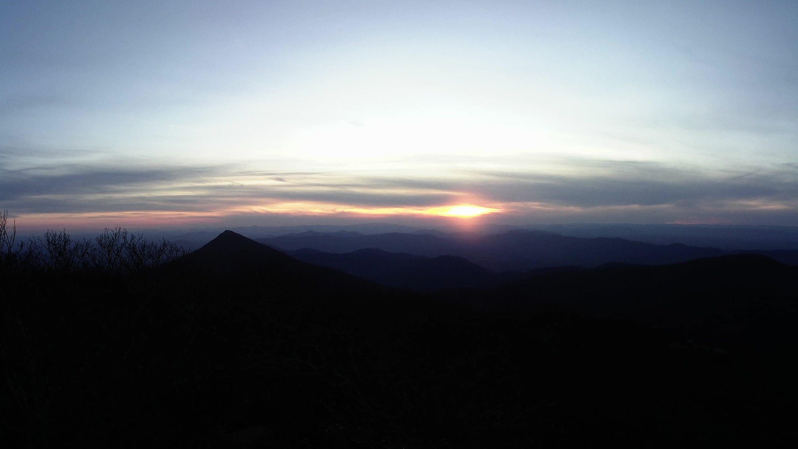Road Trips From Roanoke - Peaks of Otter - Flat Top Mountain Trail