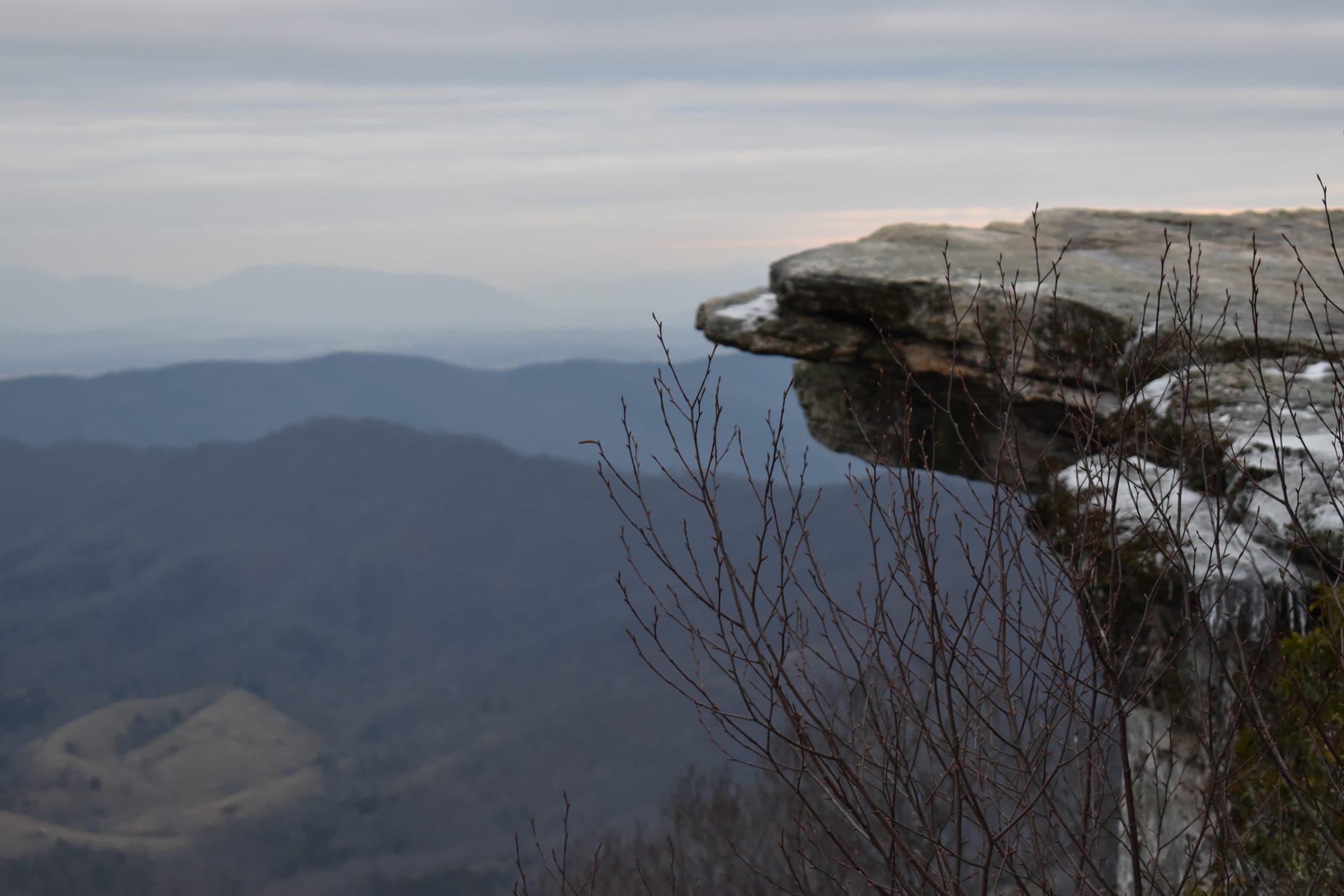 Hikes Around Roanoke  - McAfee Knob
