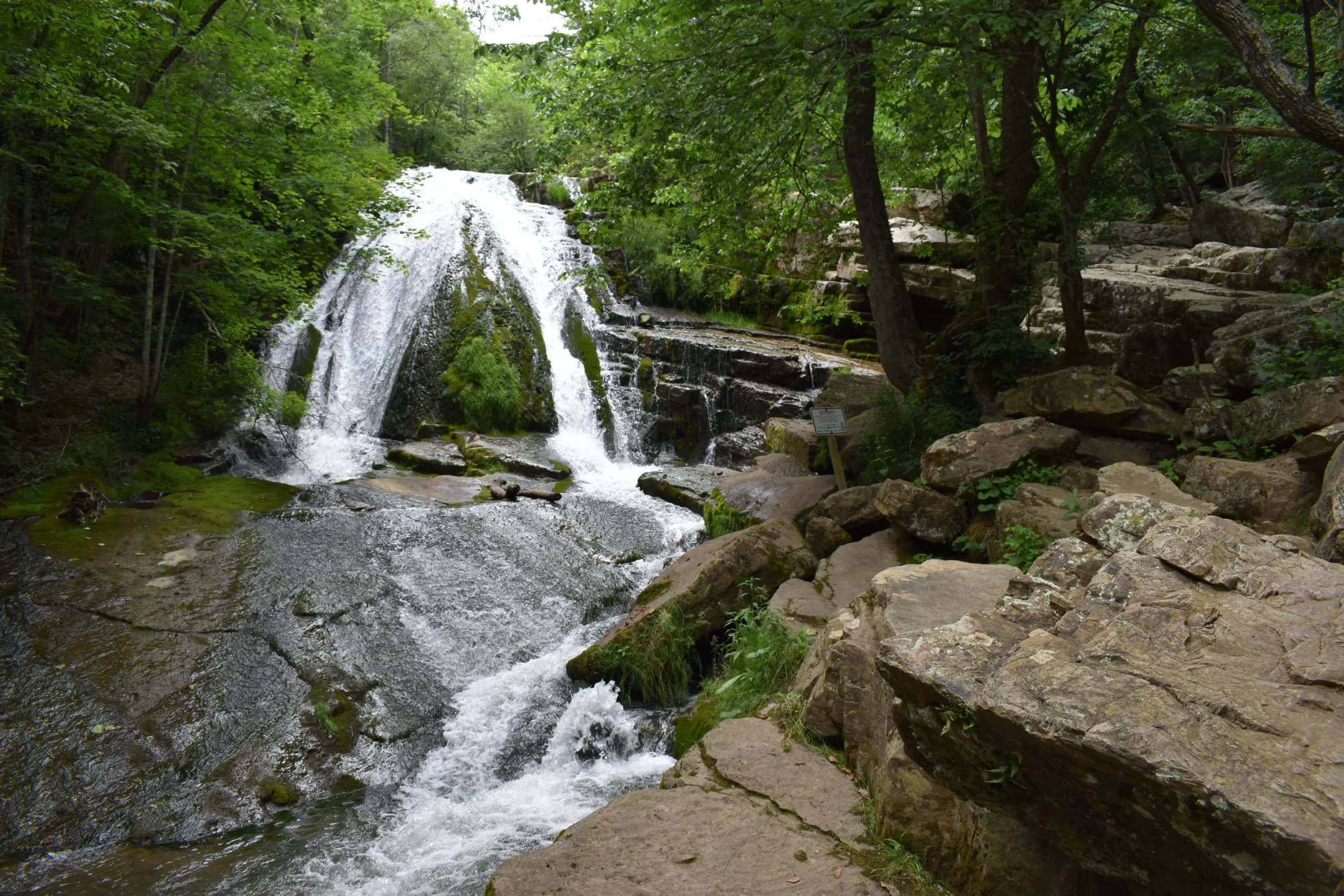 Roaring Run Falls scaled
