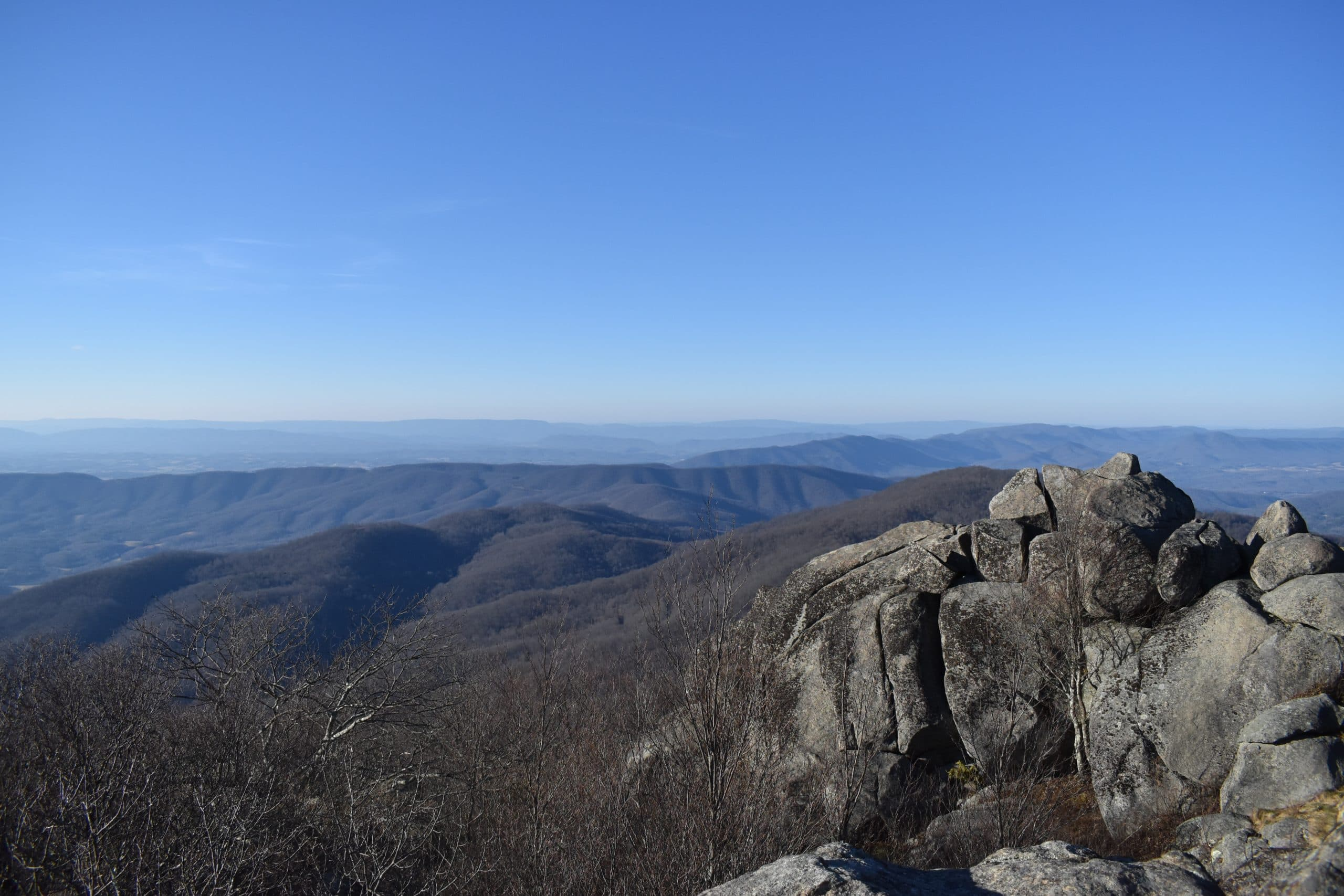 Sharp Top Trail Va - Yoanoke - Peak