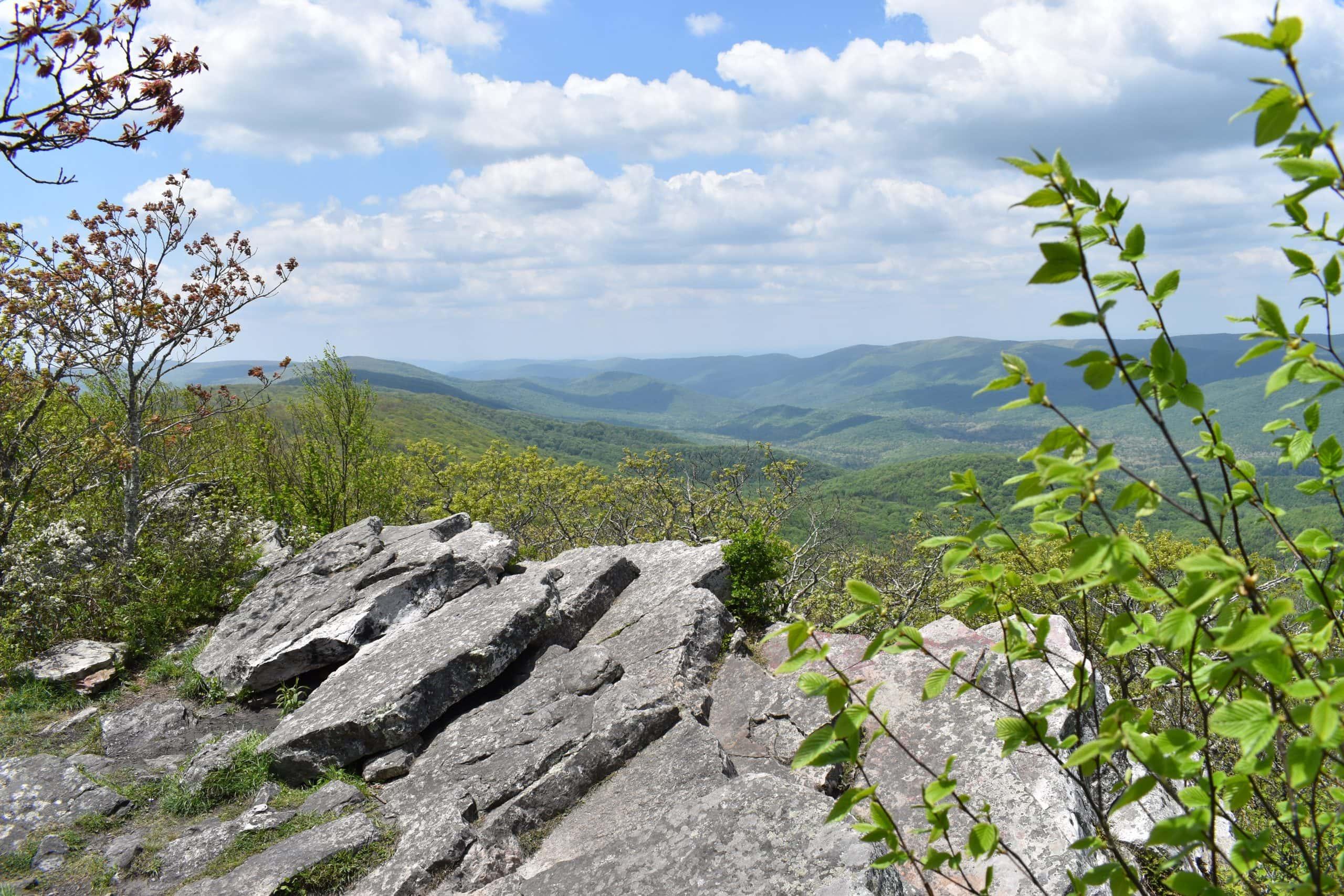 Wind Rock Via Appalachian Trail